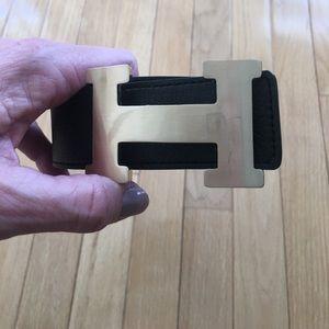 Accessories - Cute trendy reversible belt white/black Sz Large